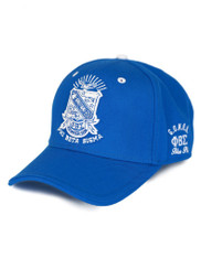 Phi Beta Sigma Fraternity Crest Hat- Blue