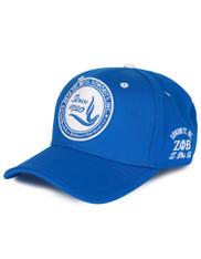 Zeta Phi Beta Sorority New Crest Hat- Blue