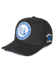 Zeta Phi Beta Sorority New Crest Hat- Black