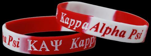 Kappa Alpha Psi Fraternity Silicone Bracelet