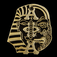 Alpha Phi Alpha Fraternity Lapel Pin- Ape/Sphinx