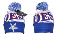 Order of the Eastern Star OES Pom Beanie- Style 2