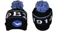 Phi Beta Sigma Fraternity Beanie- Black/Blue