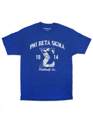 Phi Beta Sigma Fraternity Graphic T-Shirt- Symbol