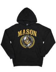 Mason Masonic Hoodie- Black- Style 2