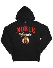 Shriner Hoodie- Black- Style 2