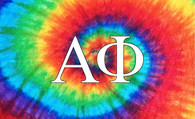 Alpha Phi Sorority Flag- Tie Dye