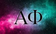Alpha Phi Sorority Flag- Galaxy