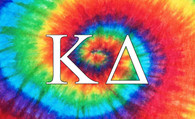 Kappa Delta Sorority Flag-Tie Dye