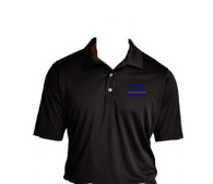 Sigma Chi Fraternity Dri-Fit Polo- Black-Style 2