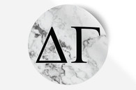 Delta Gamma Sorority Bumper Sticker- Marble