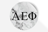 Alpha Epsilon Phi AEPHI Sorority Bumper Sticker-Marble