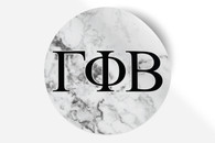 Gamma Phi Beta Sorority Bumper Sticker-Marble
