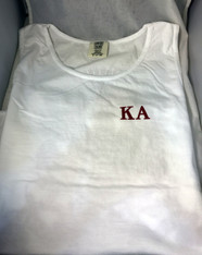 Kappa Alpha Fraternity Tank Top-White- Style 2