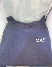 Sigma Alpha Epsilon SAE Fraternity Tank Top-Purple