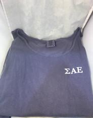 Sigma Alpha Epsilon SAE Fraternity Tank Top-Purple