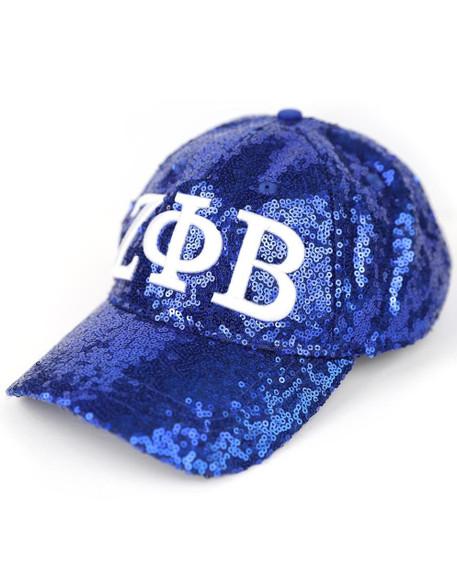 Zeta Phi Beta Sorority Sequin Hat