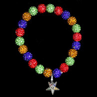 Order of the Eastern Star OES Bracelet with Organization Symbol