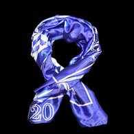 Zeta Phi Beta Sorority Polyester Scarf