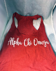 Alpha Chi Omega Sorority Tank Top