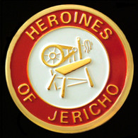 Heroines of Jericho Car Emblem