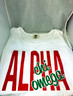 Alpha Chi Omega Sorority White Tank Top- English Spelling