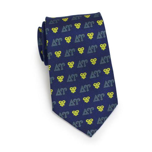 Delta Upsilon Fraternity Silk Necktie