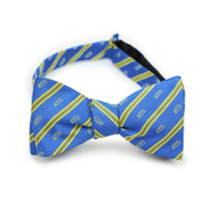Alpha Tau Omega ATO Fraternity Silk Bow Tie- Self-Tie- Greek Letters