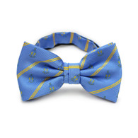 Alpha Tau Omega ATO Fraternity Pre-Tied Bow Tie- Crest