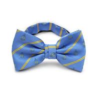 Alpha Tau Omega ATO Fraternity Pre-Tied Bow Tie- Crest