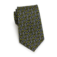 Sigma Nu Fraternity Silk Necktie