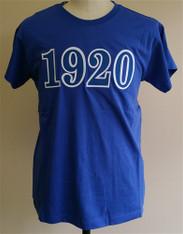 Zeta Phi Beta Sorority Shirt-Founding Year- Blue