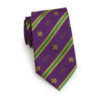 Lambda Chi Alpha Fraternity Silk Necktie