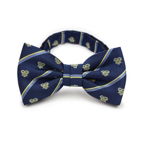 Delta Upsilon Fraternity Pre-Tied Bow Tie- Greek Letters