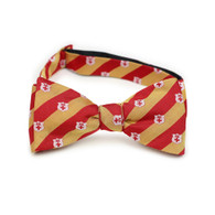 Kappa Alpha Fraternity Silk Bow Tie- Self-Tie- Symbol