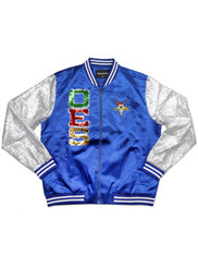 Order of the Eastern OES Sequin Satin Jacket