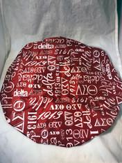 Delta Sigma Theta Sorority Shower Cap- Red