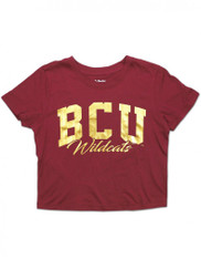 Bethune-Cookman University Cropped T-Shirt