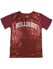 Alabama A&M University AAMU Sequin Shirt-Bulldogs