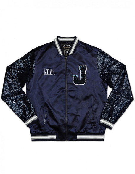 Jackson State University Sequin Satin Jacket