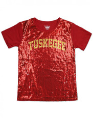 Tuskegee University Sequin Shirt
