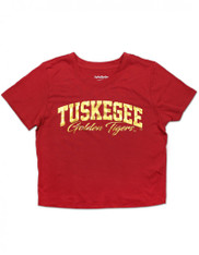 Tuskegee University Cropped T-Shirt