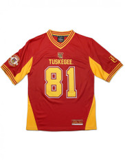 Tuskegee University Football Jersey- Style 2
