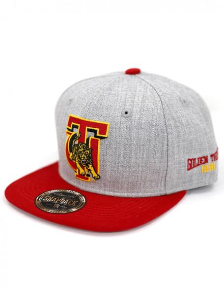 Tuskegee University Snapback Hat- Gray