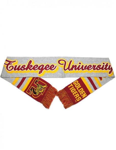 Tuskegee University Acrylic Scarf- Gray
