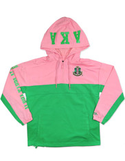 Alpha Kappa Alpha AKA Sorority Waterproof  Anorak Jacket