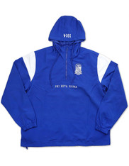 Phi Beta Sigma Fraternity Waterproof Anorak Jacket-Front