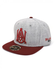 Alabama A&M University Snapback Hat- Gray
