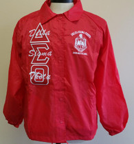 Delta Sigma Theta Sorority Line Jacket- Red