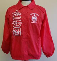 Delta Sigma Theta Sorority Line Jacket- Red